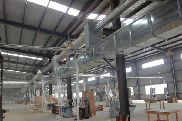 木工中央除尘设备的特点和废弃物排放标准