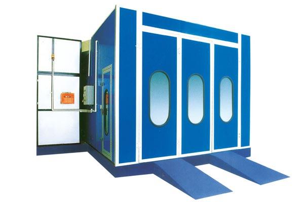 济南烤漆房的操作要领和废气处理方法