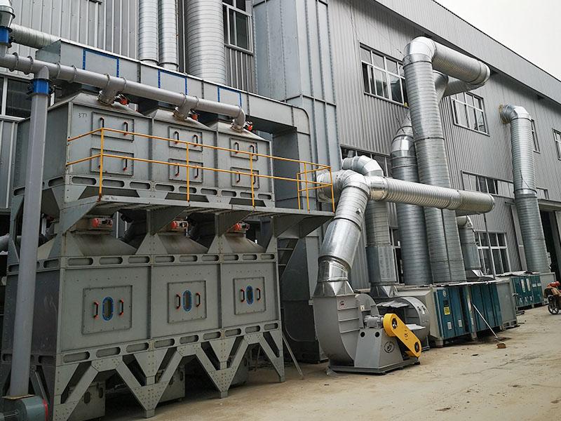 山东环保设备安装工程案例