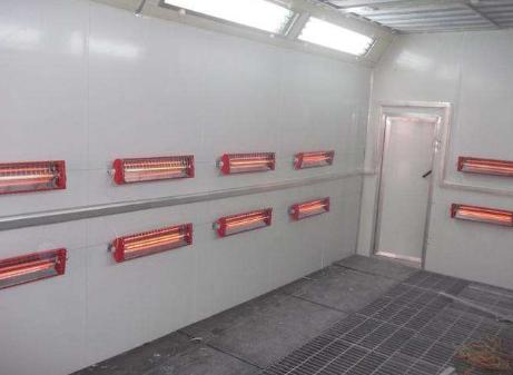 高温烤漆房